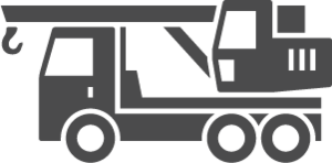 Icon of trucking hauling equipment