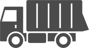 Icon of a Side-Dump Truck