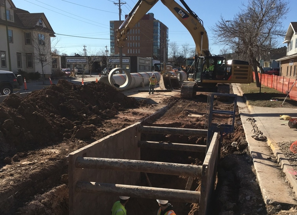 9th Street Reconstruction, Columbus to Fulton